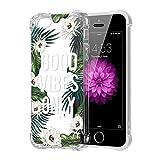 ZhuoFan Coque iPhone 5s, iPhone Se, Etui en Silicone Transparente avec Motif Dessin...