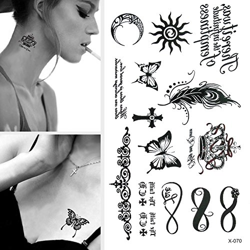 toaob-pretty-black-feather-butterfly-crown-etc-waterproof-temporary-tattoos-removable-body-tattoo-st