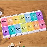 Portable 14 Separated Grid Mini Bunte Droge Aufbewahrungsbox preisvergleich bei billige-tabletten.eu
