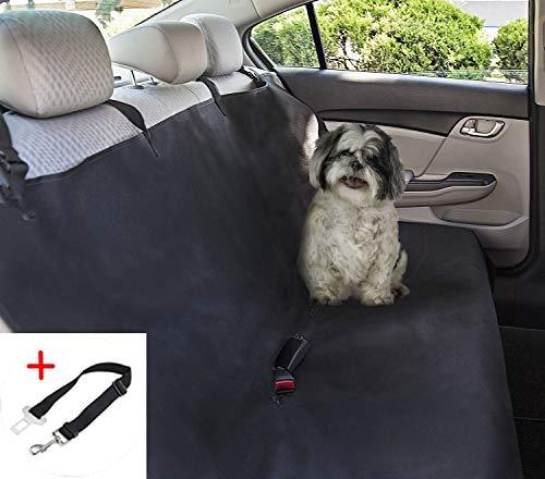 PETTOM Coprisedile per Cani Auto Posteriore Universale Amaca per Animali Domestici Impermeabile Copertura Sedile per Cani Telo Bagagliaio 142×119cm