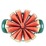 Tagliare l'anguria dell'acciaio inossidabile del frutto del divisore del melone del frullatore del frullatore del frullatore 28CM diametro tagliato 12 petali immagine