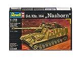 """Revell Modellbausatz 03148 - Sd.Kfz. 164 """"Nashorn"""" Panzerjäger im Maßstab 1:72"""