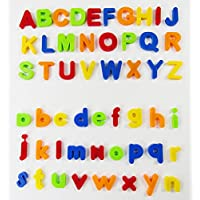 VicPow D24 Magnetic Educational Toddlers Toys for Preschool Learning,Spelling,Counting, 80 PCS