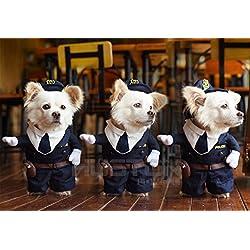Disfraces de Mascotas - El Policía
