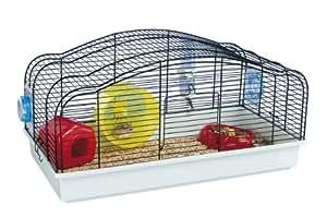 Ferplast Oriente 12 Hamster Cage Black 58x31.5x29.5cm