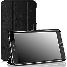 MoKo Samsung Galaxy Tab 4 7.0 / Tab 4 Nook 7 2014 Funda - Ultra Slim Ligera Smart-shell Funda para Samsung GALAXY Tab 4 7.0 Pulgadas Tableta, NEGRO (NO va a caber el Tab 3 7.0)