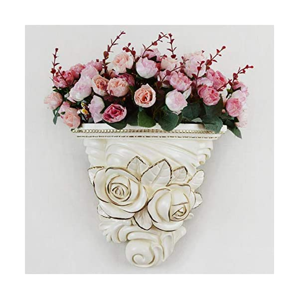 Sinzong Colgante Decorativo Pared Pared Decorada Macetas De Resina Que Cuelgan En La Pared Flor Accesorios De Decoración del Hogar Sala De Estar