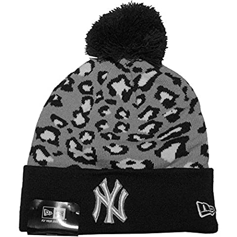 New Era - Bonnet Homme New York Yankees Team Leopard 2 - Navy / Grey / White