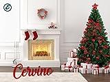 Best Alberi di Natale - Albero di Natale Verde Cervino-L Altezza 210 cm Review