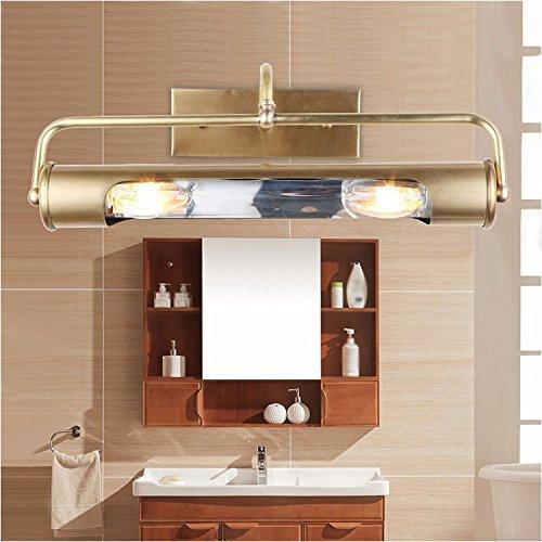 Kupfer-badewanne-eitelkeit (Badewanne Spiegel Lampen lisafeng Dorf Eitelkeit led voll Kupfer vor dem Spiegel Lampe warm einfache Badezimmer Schlafzimmer Zimmer, drei-Ton)