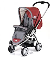 iCoo Pii, Stroller with seat-unit and 3in1 pram, and MP3 System, 0M+ to 15 kg - Bossa Nova