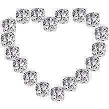 40pcs Diamante De Imitacion Cuentas Abalorios Para Coser Cosible Suelto Facetas