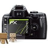 Nikon D40 Miroir Film Protecteur - atFoliX FX-Mirror Protection d'écran avec effet miroir