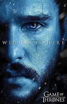 Large Game of Thrones Fridge Magnet Winter is Here John Snow