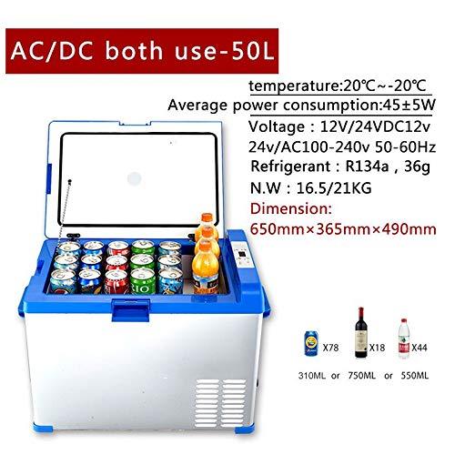 SMEARTHYB Compresor Congelador De 50L 12V Refrigerador