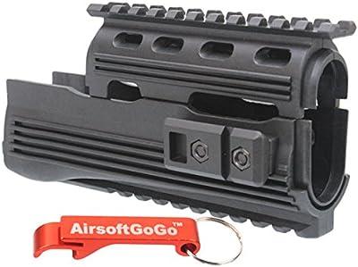 Tactical Riel Guardamanos para APS AK74 AKS74 ASK201 ASK202 ASK204P ASK208 Airsoft AEG - AirsoftGoGo Llavero Incluido