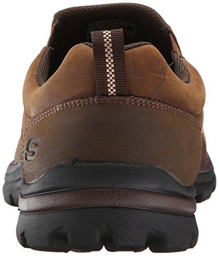 Skechers (SKEES) Superior- Misko, baskets sportives homme brown (CDB)