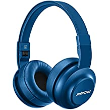 Mpow H2 Auriculares Bluetooth Diadema Cerrados con 4 Modos de EQ Sonido 20 horas Reproducción de Música Cascos Bluetooth Inalámbricos Plegable Manos Libres y Cable de Audio para Movil, TV, PC y Mac