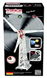 Metal Construction Model Kit, Solar Powered Wind Mill, 626 parts, Tronico© Germany, including tools, metal mechanical construction, kids metal kits, metal mechanics kits