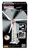 Metallbaukasten Solar-Baukasten Windmühle Windkraftanlage 626 Teile Motor mit Funktion Werkzeug Set ab 12 Jahren Anleitung Solarbetrieb Erwachsene Metallbaukästen Metallbautechnik Lernfeld Tronico