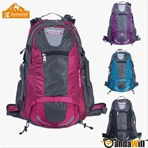Senterlan 38L Unisex Outdoors Travelling Camping Hiking Sports Bag Backpack 5 Color - Rose