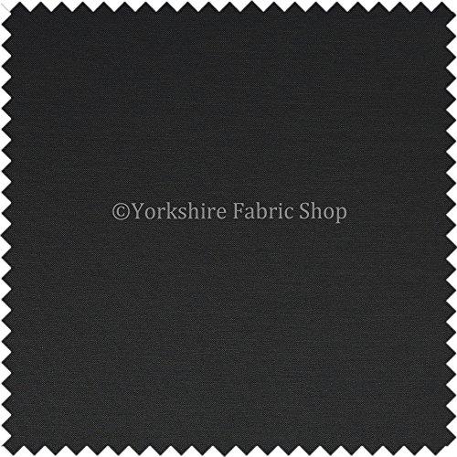 Yorkshire fabric shop new leggero esterna impermeabile facile da pulire morbido tessuto ideale per tende cuscini tappezzeria tende divani colore grigio antracite–venduto al metro