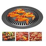 Luckyli Tragbare Grillschale BBQ Tool Cooking Barbecue, Perfekter Gemüse-Grillkorb Für Alle Grills Und Gemüse, Wiederverwendbares Hochleistungs-Grillzubehör