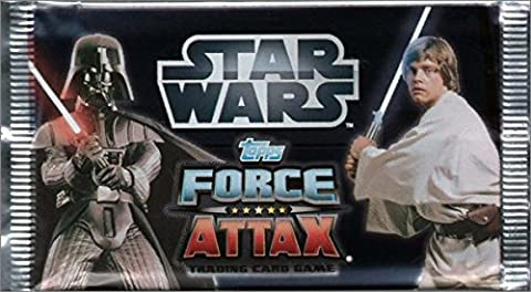 LOT DE 10 BOOSTERS Star Wars Force Attax Saga -