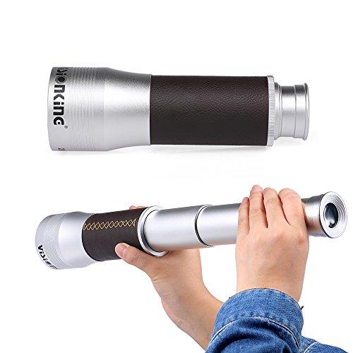 Lixada Visionking Handheld Zoomable Monocular 20x60 zusammenklappbare Tasche Monocular Teleskop...