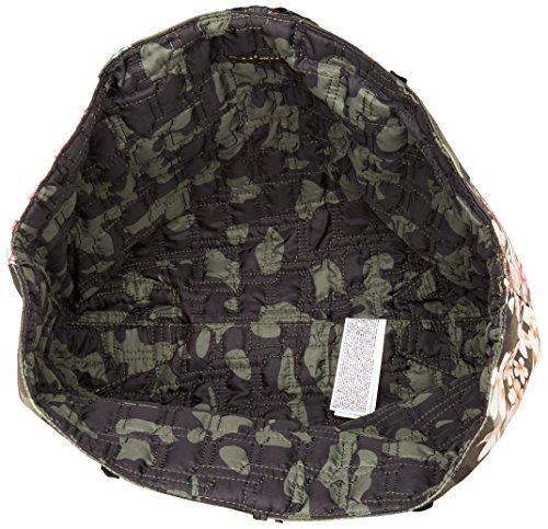 Desigual Bols Capri Shopper 40 cm Grün (Musgo)