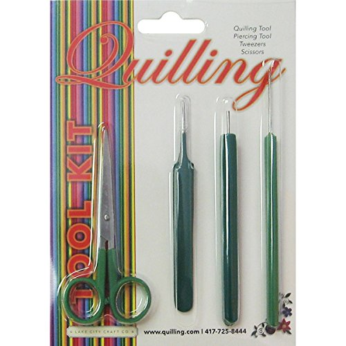Lake City Craft Kit Quilling , 4 Pezzi