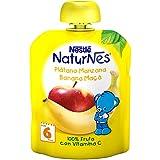 Nestlé Naturnes - Bolsita Plátano y Manzana - A partir de 6 meses - 90 g