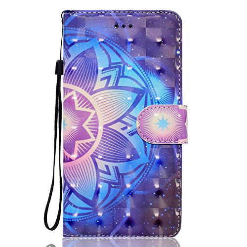 Custodia iPhone 7, iPhone 7 Cover Wallet, SainCat Custodia in Pelle Flip Cover per iPhone 7, Ultra Sottile Anti-Scratch Book Style Custodia Morbida Cover Protettiva Caso PU Leather Custodia Libretto A Datura
