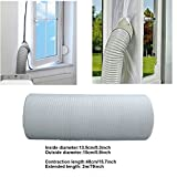 Lamiga Zusammenziehbar Abluftschlauch PVC flexibel Ø 15 cm für mobile Klimageräte (Ø15cm-Length 2m)