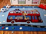 Lifestyle Kinderteppich Road Trip in 3 Größen !!! Sofort Lieferbar