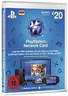 PlayStation Network Card 20 € [Guthabenkarte für deutsches PSN-Konto] (B002NSME56) | Amazon price tracker / tracking, Amazon price history charts, Amazon price watches, Amazon price drop alerts