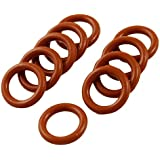 Tradico® 14mm X 2.5mm Silicone O Ring Oil Sealing Washers Grommets Red 10 Pcs
