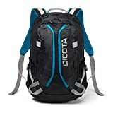 Dicota ACTIVE XL 15-17.3' Polyester Black,Blue backpack - backpacks (Polyester, Black, Blue, 38.1 cm (15'), 43.9 cm (17.3'), Front pocket, Side pocket, 340 mm)