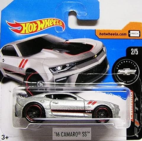 HOT WHEELS® Camaro SS 2016 - 1:64 - grau/schwarz metallic (Edition Fifty Years of Camaro 2017)