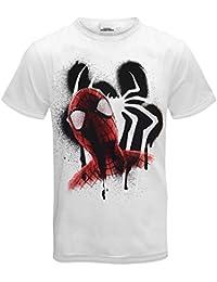 Marvel Comics - Herren T-Shirt mit Spiderman-Motiv - Offizielles Merchandise - Geschenk
