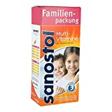 Sanostol Multivitamine, 780 ml Saft