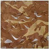 Camouflage Net Desert Camouflage Net Oxford Panno di Lancio Tenda da Campeggio Nascosta Nascosto Stage Background Tenda Multi-Size Opzionale (Color : 3 * 3M)