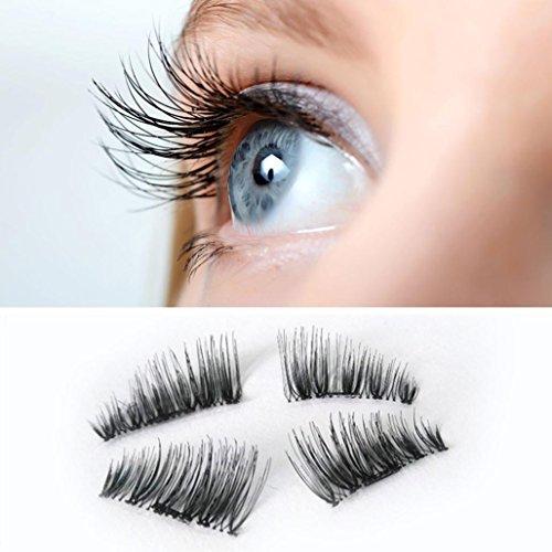 Lanspo NEU Ultra-dünne 0.2mm magnetische Augenwimpern 3D Nerz Wiederverwendbare falsche Magnet Wimpern schwarze lange Verlängerung Wimpern Kosmetische Schönheit