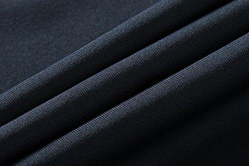 jeansian Herren Sportswear Quick Dry Sleeveless Sport Shirt Tank Tops LSL3306 LSL203_DarkGray