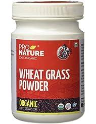 Pro Nature 100% Organic Wheat Grass Powder, 100g