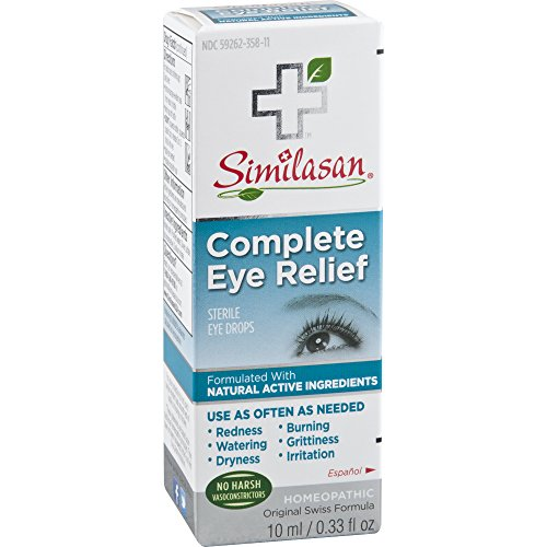 Similasan -Completo alivio de ojo estéril gotas - 0,33 oz.