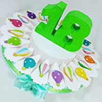 Amazon It Torte Di Compleanno 18 Anni Bombsindy Bomboniere