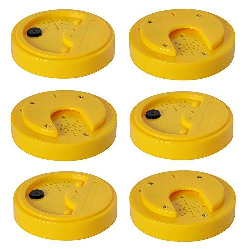 Talking Tins, Sprachaufzeichnung, gelb, 20 Sekunden, 6er-Pack