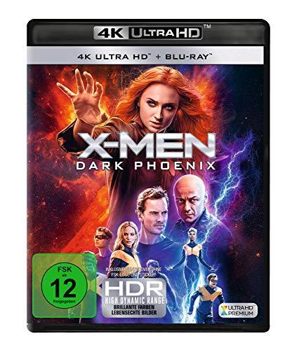 X-Men: Dark Phoenix (4K Ultra HD + 2D Blu-ray) [Blu-ray]