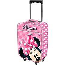 Karactermania Minnie Mouse Joyful Equipaje infantil, 50 cm, 25 litros, Rosa